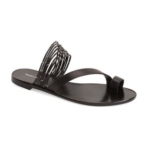 Authentic Pour La Victoire Leather Sandals